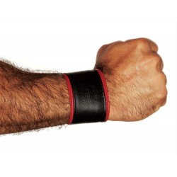 COLT Wristwallet Black Red bracciale portafoglio leather pelle con zip