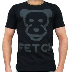 Mister B FETCH T-shirt Black cucciolo nera