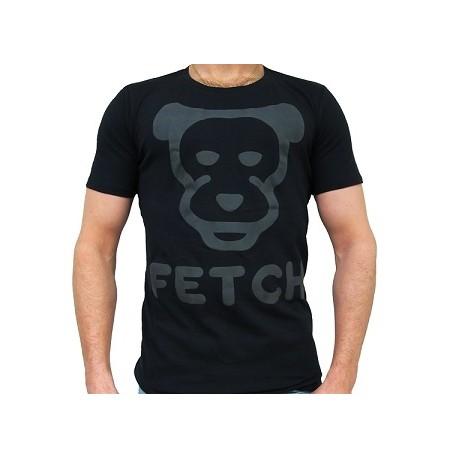 Mister B FETCH T-shirt Black cucciolo nera