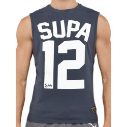 Supawear Team Supa Tank Top Grey smanicata
