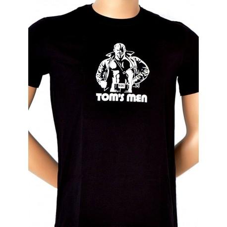 Tom of Finland Kake T-Shirt (Euro Size) Black maglietta