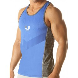 Junk UJ Curl Tank Top Royal canotta