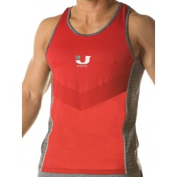 Junk UJ Curl Tank Top Red canotta