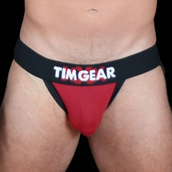 TIM Gear Jockstrap Underwear Red jockstrap sospensorio intimo uomo