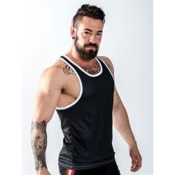 Mister B URBAN Leeds Muscle Shirt Logo canotta nero