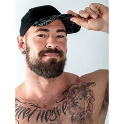 Mister B URBAN Cap Black baseballcap cappellino nero