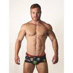 Mister B URBAN Tel Aviv Swim Trunks Black boxer calzoncino costume da bagno