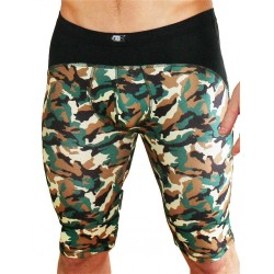 GB2 Lanz Training Trunk Underwear Camo Black calzoncini pantaloncini leggings sportivi