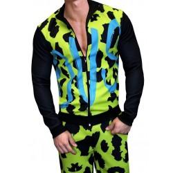 Danny Miami Famous Tracksuit Multi tuta fashion con pantalone e giubbotto
