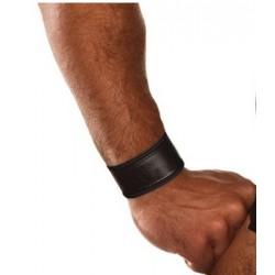 COLT Wrist Strap Band Black and Black bracciale regolabile leather pelle