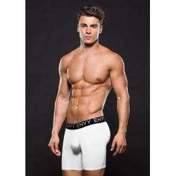 Envy Micro LowRise Athleti Boxer White calzoncini