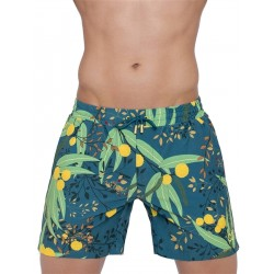 2Eros Australiana Flora Swimshorts Acacia boxer calzoncini costume da bagno