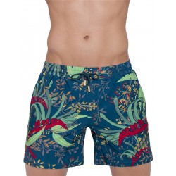 2Eros Australiana Flora Swimshorts Kangaroo Paw boxer calzoncini costume da bagno