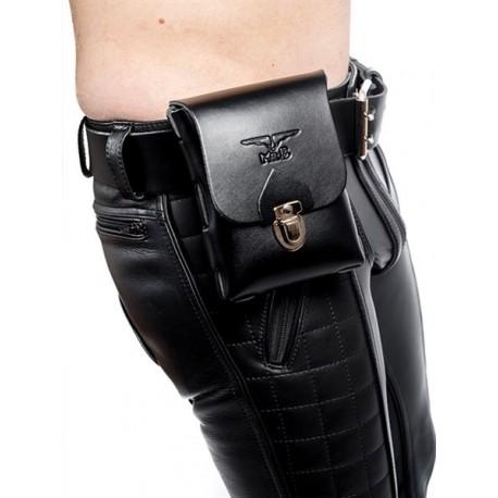 Mister B Leather belt bag large  borsello per cintura leather pelle