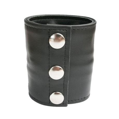 Mister B Leather Wrist Wallet bracciale per polso con portafoglio interno