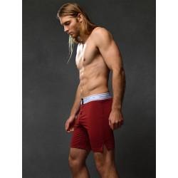 2Eros Core Series 2 Lounge Shorts Underwear Cabernet boxer calzoncini più lunghi intimo uomo