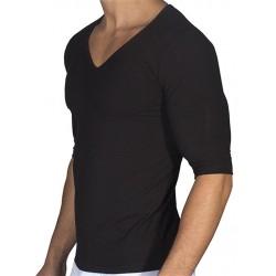 Rounderbum Padded Muscle T-Shirt Black t-shirt maglietta muscolare