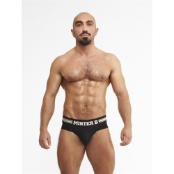 Mister B URBAN Amsterdam Black slip traforato underwear intimo uomo