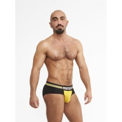Mister B URBAN Amsterdam Yellow slip traforato