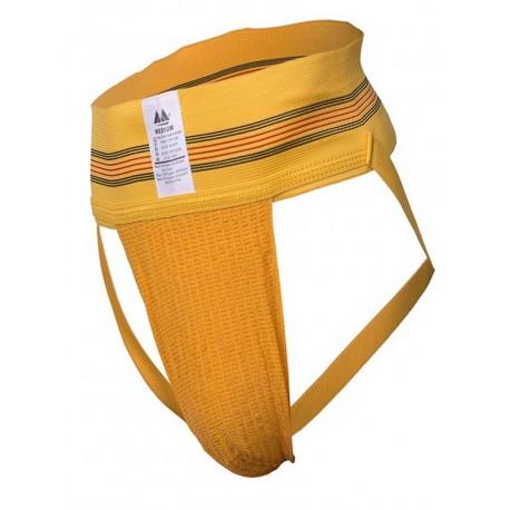 "MM Jocks Adult Supporter 3"" bike style original edition Yellow jockstrap sospensorio giallo"